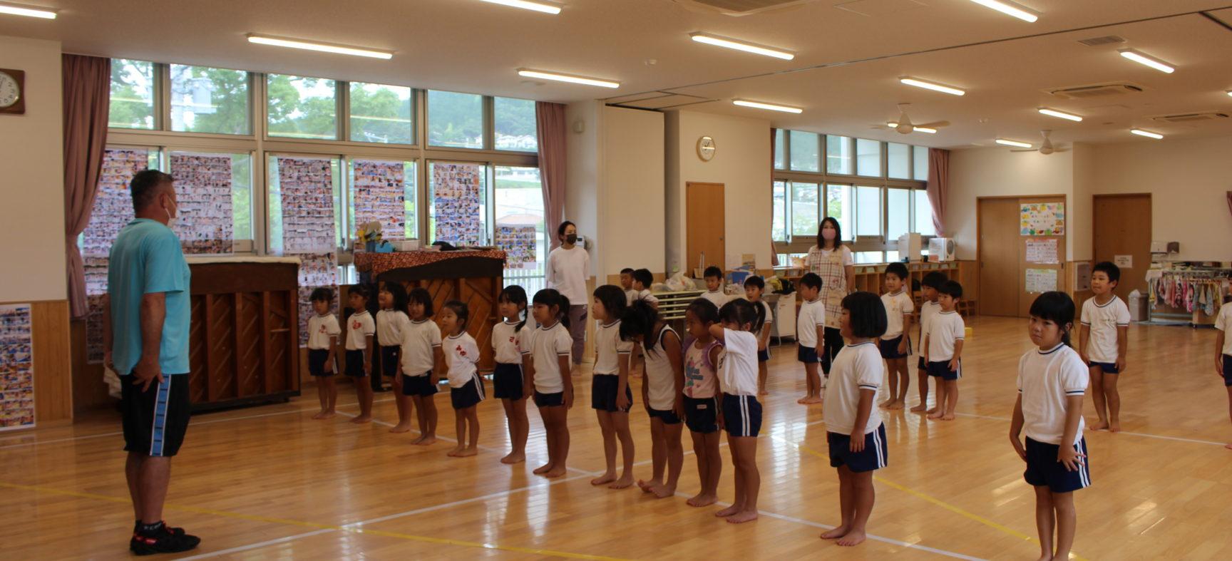 体育遊びの教室がありました。その2